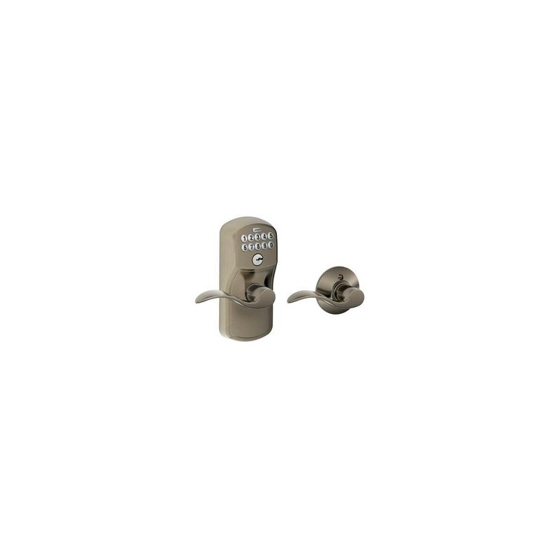 Schlage Fe575 Plymouth Keypad Entry Auto Lock With Accent