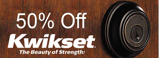 50% Off Kwikset Products