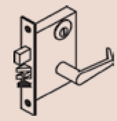 Mortise Lockset with a Deadbolt