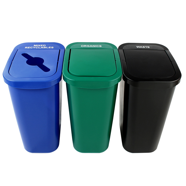 Indoor Recycling & Waste Bins