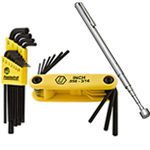 Hex Key, Wrench Sets & Telescopic Magnetic Pickup Tools