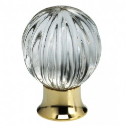 Glass & Crystal Cabinet & Drawer Knobs